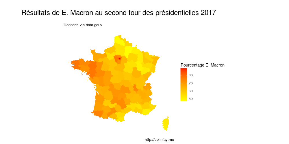 macron second tour